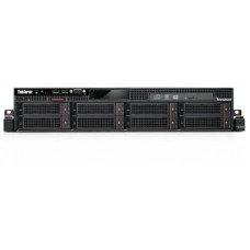 70B1000MBN - Servidor ThinkServer Lenovo RD640 Intel Six Core E5-2630 v2 (2.6GHz) 8GB 300GB SAS -70B1000MBN