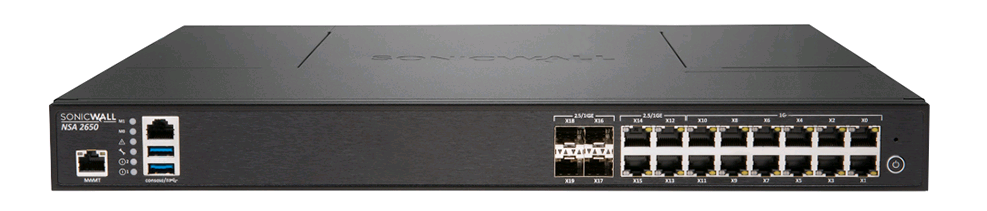 SonicWALL NSA 2600