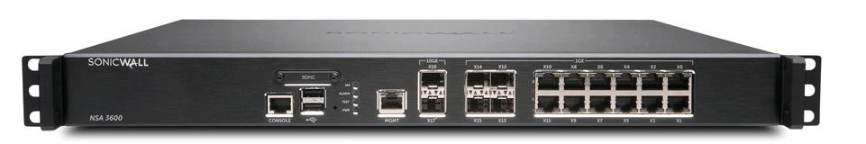 SonicWALL NSA 3600